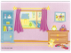 Part No: 4215969  Name: Plastic Backdrop, Belville Doll House Bedroom (5940)