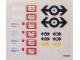 Part No: 4564stk01  Name: Sticker for Set 4564 - (168225)