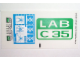 Part No: 4851stk01  Name: Sticker for Set 4851 - (47401/4206653)