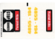Part No: 4855stk01  Name: Sticker for Set 4855 - (49196/4222889)