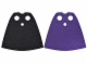 Part No: 522pb008  Name: Minifigure, Cape Cloth, Standard with Dark Purple and Black Sides
