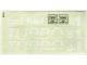 Part No: 5540stk01  Name: Sticker for Set 5540 - (197915)
