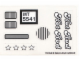 Part No: 5541stk01  Name: Sticker for Set 5541 - (170155)
