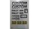 Part No: 5550stk01  Name: Sticker for Set 5550 - (162275)