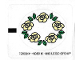 Part No: 5805stk02  Name: Sticker for Set 5805 - Sheet 2, Circle of Roses (72838/4119383)