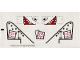 Part No: 5909stk01  Name: Sticker for Set 5909 - Sheet 1, Airplane (71634/4114141)