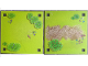 Part No: 6199521  Name: Paper, Playmat Friends Heartlake City, Double-Sided, Grass with Bushes / Grass with Sand (853671)