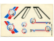 Part No: 6544stk01  Name: Sticker for Set 6544 - Sheet 1, (169655)