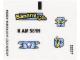 Part No: 76026stk01a  Name: Sticker for Set 76026 - International Version - (19609/6100595)