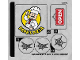 Part No: 76108stk02  Name: Sticker for Set 76108 - Sheet 2 (38535/6225669)