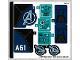 Part No: 76126stk01  Name: Sticker for Set 76126 - (49541/6262109)
