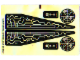 Part No: 7645stk02  Name: Sticker for Set 7645 - Sheet 2 (63495/4529044)