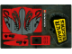 Part No: 8493stk01  Name: Sticker for Set 8493, Mirrored - (61626/4518327)