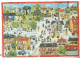 Part No: 9221pap  Name: Paper, Duplo Playmat for Set 9221 - Town Scene Pattern