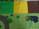 Part No: dupbp01  Name: Duplo Cloth Playmat 60 x 40 cm with Farm Pattern