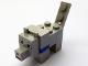 Part No: minewolf04  Name: Minecraft Wolf, Black and White Eyes