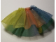 Part No: scl008pb01  Name: Scala, Clothes Female Skirt with Rainbow Pattern