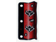 Part No: x65  Name: Plastic Flag 3 x 6 Ninja Pattern Red