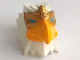 Part No: 13683pb01  Name: Large Figure Head Modified Chima Eagle with Gold Beak Pattern