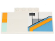 Part No: 15625pb014L  Name: Slope, Curved 5 x 8 x 2/3 with SW The Phantom Pattern Model Left Side (Stickers) - Set 75170