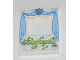 Part No: 15627pb010  Name: Panel 1 x 6 x 6 with Window with Curtains and Flower Box Pattern