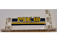 Part No: 18945pb004R  Name: Technic, Panel Plate 5 x 11 x 1 Tapered with 'MKIII' and Dark Blue and Yellow Stripes Pattern Model Right Side (Sticker) - Set 42055
