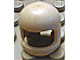 Part No: 193bu  Name: Minifig, Headgear Helmet Old with Thick Chin Strap - Visor Dimple Presence Undetermined