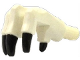 Part No: 20870pb01  Name: Dino Foot Front (Manus) with Black Claws Pattern