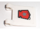 Part No: 2335pb057  Name: Flag 2 x 2 Square with Space Police 3 Badge Pattern (Sticker) - Set 5969