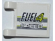 Part No: 2335pb081  Name: Flag 2 x 2 Square with 'FUEL4' and 'SPEED' Pattern on Both Sides (Stickers) - Set 8186