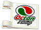 Part No: 2335pb153  Name: Flag 2 x 2 Square with Octan Logo and 'Octan Racing' Pattern on Both Sides (Stickers) - Set 60115