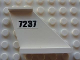 Part No: 2340pb040  Name: Tail 4 x 1 x 3 with Black '7237' Pattern on Both Sides (Stickers) - Set 7237