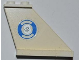 Part No: 2340pb044R  Name: Tail 4 x 1 x 3 with Blue and White Life Preserver and Silver Police Badge Pattern on Right Side (Sticker)