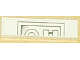 Part No: 2431pb025  Name: Tile 1 x 4 with Geometric Left Pattern (Sticker) - Set 8008