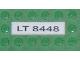 Part No: 2431pb046  Name: Tile 1 x 4 with 'LT 8448' Pattern (Sticker) - Set 8448