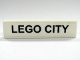 Part No: 2431pb062  Name: Tile 1 x 4 with 'LEGO CITY' Pattern (Sticker) - Set 7997