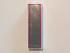 Part No: 2454pb112  Name: Brick 1 x 2 x 5 with Mirror and Pink Scroll Border Pattern (Sticker) - Set 41058
