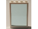 Part No: 2493c02  Name: Window 1 x 4 x 5 with Trans-Light Blue Glass
