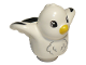 Part No: 27370pb04  Name: Duplo Bird with Seagull with Black Wing Tips Pattern