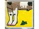 Part No: 2756pb005  Name: Duplo Tile 2 x 2 x 1 with Goat Mosaic Picture 05 Pattern (Set 1078)