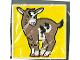 Part No: 2756pb007  Name: Duplo Tile 2 x 2 x 1 with Goat Mosaic Picture 07 Pattern (Set 1078)