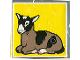 Part No: 2756pb008  Name: Duplo Tile 2 x 2 x 1 with Goat Mosaic Picture 08 Pattern (Set 1078)