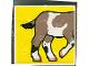 Part No: 2756pb010  Name: Duplo Tile 2 x 2 x 1 with Goat Mosaic Picture 10 Pattern (Set 1078)