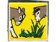 Part No: 2756pb011  Name: Duplo Tile 2 x 2 x 1 with Goat Mosaic Picture 11 Pattern (Set 1078)