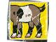 Part No: 2756pb012  Name: Duplo Tile 2 x 2 x 1 with Goat Mosaic Picture 12 Pattern (Set 1078)