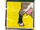 Part No: 2756pb016  Name: Duplo Tile 2 x 2 x 1 with Goat Mosaic Picture 16 Pattern (Set 1078)