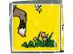 Part No: 2756pb018  Name: Duplo Tile 2 x 2 x 1 with Goat Mosaic Picture 18 Pattern (Set 1078)