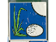 Part No: 2756pb034  Name: Duplo Tile 2 x 2 x 1 with Duck Mosaic Picture 16 Pattern (Set 1078)