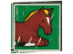 Part No: 2756pb045  Name: Duplo Tile 2 x 2 x 1 with Horse Mosaic Picture 09 Pattern (Set 1078)