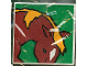 Part No: 2756pb051  Name: Duplo Tile 2 x 2 x 1 with Horse Mosaic Picture 15 Pattern (Set 1078)